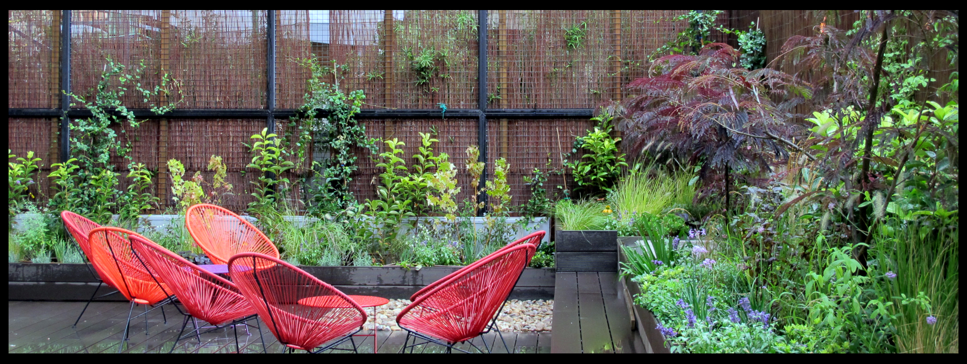 Ajardinamiento de tico y patio interior para oficinas for Plantas de interior madrid